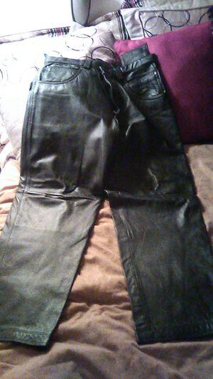 Mjulian Wilson Leather Pants size 34 Black for Sale in Phoenix, AZ