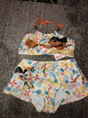 Disney Store Girls Moana Bathing Suit Size 5/6 for Sale in New York, NY