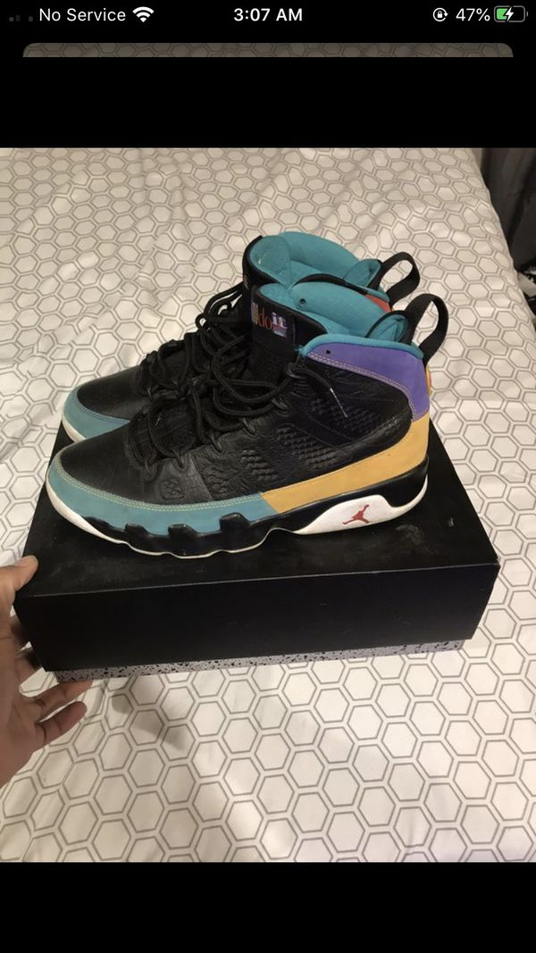 Jordan retro 9 size 10.5