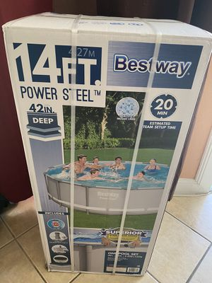 14 Foot Pool Bestway Brand New for Sale in San Bernardino, CA