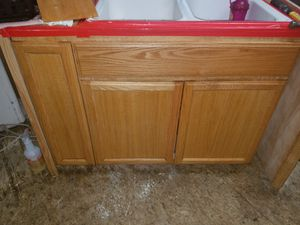 Oak Kitchen cabinets - $750.00 OBO Used for Sale in Vancouver, WA