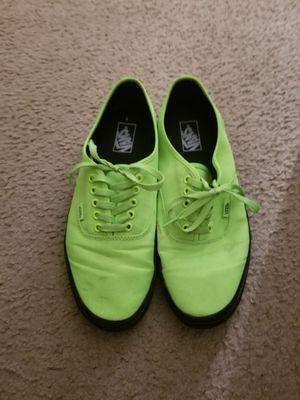 Lime green Van's size 12 mens for Sale in Ventura, CA
