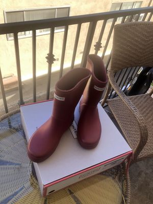 Hunter rain boots (unisex) for Sale in Los Angeles, CA