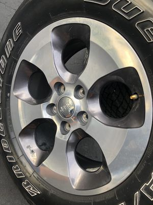 Jeep Unlimited Sahara Edition Rims and Tires for Sale in Pompano Beach, FL