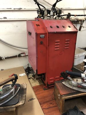 Industrial Steam Boiler with Irons for Sale in Garden Grove, CA