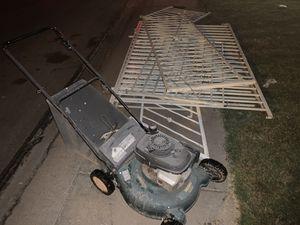 Free Scrap metal and working Honda lawnmower for Sale in Chandler, AZ