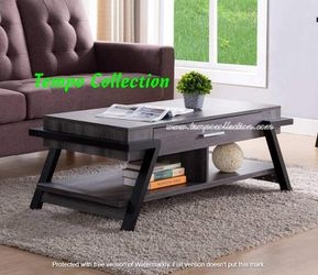 NEW, CM Coffee Table, Distressed Grey & Black , SKU# 182339CT for Sale in Westminster,  CA