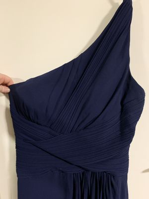 One shoulder navy blue prom dress for Sale in Vancouver, WA