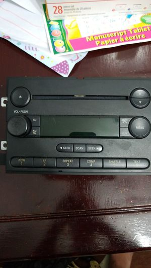 Ford car audio mp3 player with CD and Radio for Sale in Virginia Beach, VA
