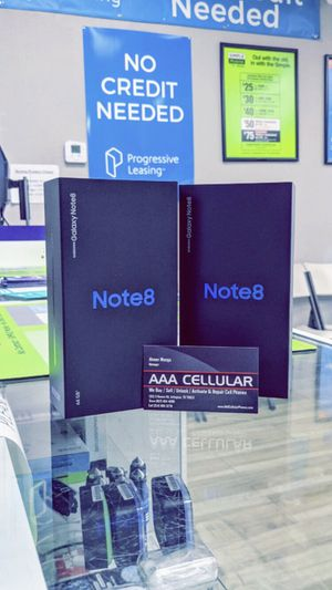Galaxy Note 8 64gb Factory Unlocked - Brand New in Box! One Year Warranty! (Cash Deal) for Sale in Arlington, TX