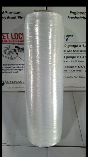Stretch (pallet) wrap / shrink wrap (clear film) for Sale in Tampa, FL
