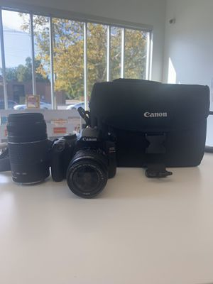 Canon Camera EOS Rebel T6 for Sale in Columbus, OH