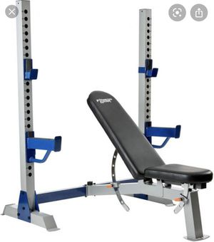 Fitness Gear Pro Olympic Weight Bench for Sale in Menifee, CA