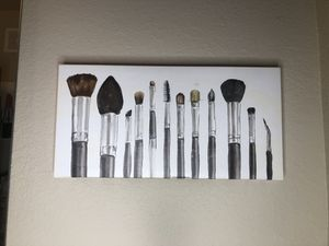 CANVAS makeup brushes for Sale in Saint Petersburg, FL