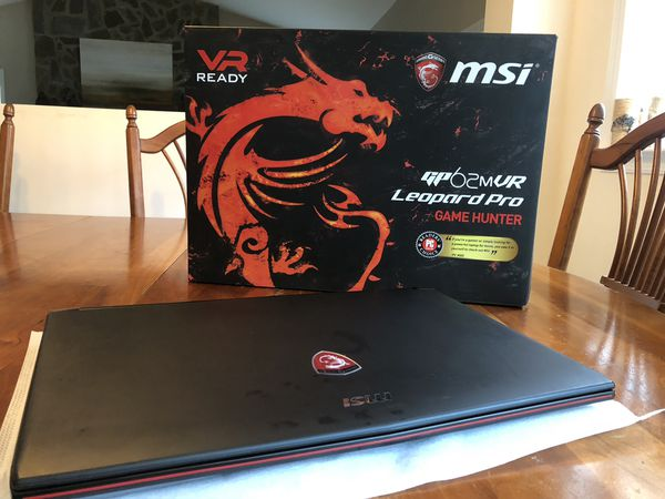GAMING LAPTOP MSI Leopard Pro