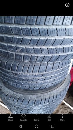 Tires michelin 245/70/r16 all 4 for Sale in Adkins,  TX