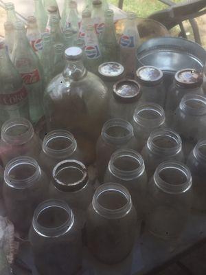 Old jars and bottles for Sale in Greenville, SC