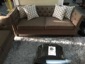 Very fancy sofa and love seat for Sale in Dallas, TX