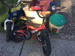 """Kids/toddlers Cars Bike 12"""" for Sale in Chico, CA"""