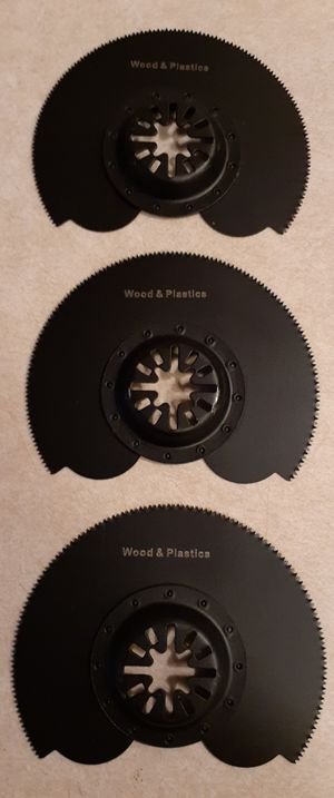 3 for $20 Segmented Circle Multitool Saw Blades for Sale in Las Vegas, NV