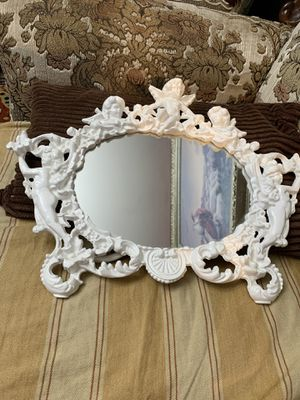 Small mirror with angels for Sale in Gaithersburg, MD