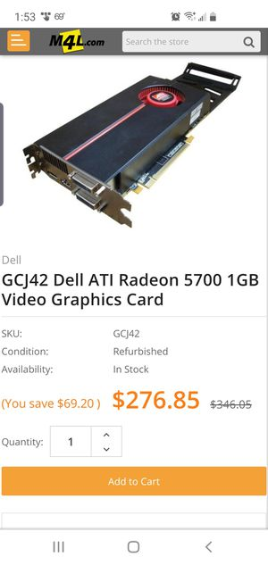 Graphics card for Sale in Huntington Beach, CA