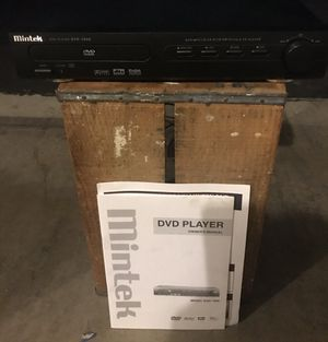 MINTEK DVD PLAYER, MODEL NO. 1600 AND ORIGINAL MANUAL for Sale in Los Alamitos, CA