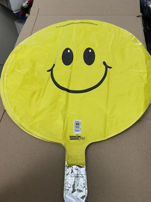 """New Classic Smiley Face 17"""" Round Foil Balloon! for Sale in Pittsburg, CA"""