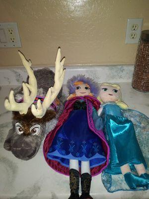 Frozen plushies for Sale in Buckeye, AZ
