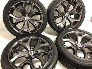 "20"" Dodge Challenger / charger Hyper Black factory rims for Sale in Lake Arbor, MD"