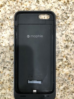iPhone 6 Plus/6s plus Mophie battery case Get an extra 2600mAH of battery on the go Case is in good condition and works great Asking $25 for Sale in South Gate, CA