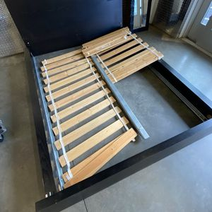 Queen IKEA Bed With Mattress Brace Missing (replace At IKEA) for Sale in Chamblee, GA