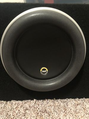 "Jl audio 8"" w7 subwoofers for Sale in Helena, MT"