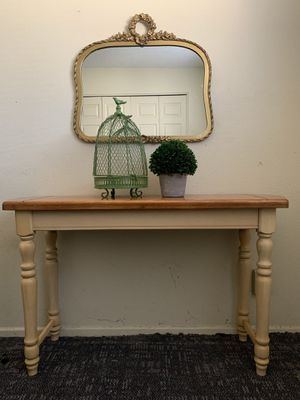 Vintage Table and Mirror for Sale in Tempe, AZ