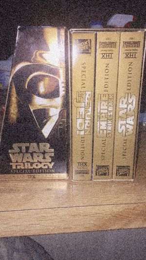 VHS Star Wars Trilogy with bag for Sale in Wichita, KS