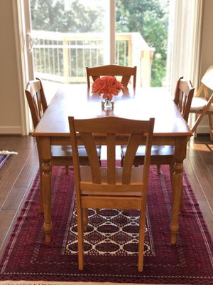 Wood Breakfast Table for Sale in Bristow, VA