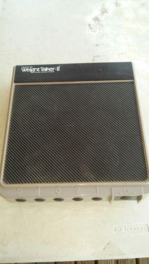 Weight Talker-II Electronic Talking Bathroom Scale w/Memory By Technasonic. L@@K!!! for Sale in Mesa, AZ