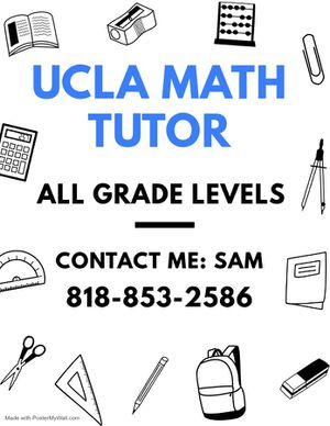 Math Tutoring for Sale in Los Angeles, CA