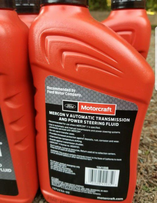 Motorcraft Mercon V ATF automatic transmission and power steering fluid for  Sale in Bothell, WA - OfferUp