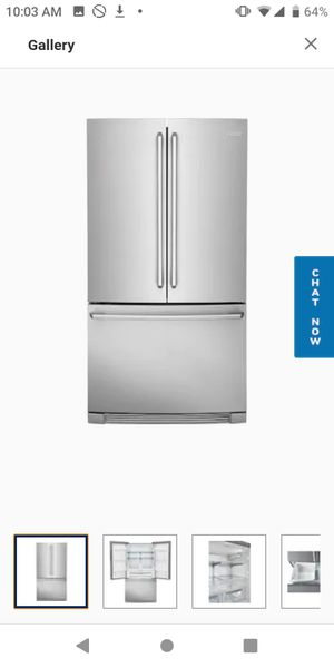 Electrolux French Door Refrigerator (Stainless Steel) for Sale in Fresno, CA