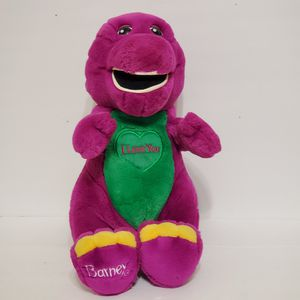 "Barney Singing ""I Love You"" 12"" Plush Original Lyons Stuffed Animal Plush RARE for Sale in Brookfield, IL"