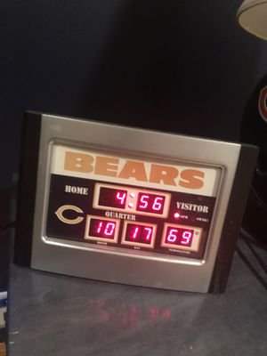 Bears alarm clock for Sale in Chicago, IL