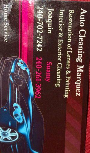 Auto cleaning buen precio y calidad garantizado for Sale in Hyattsville, MD