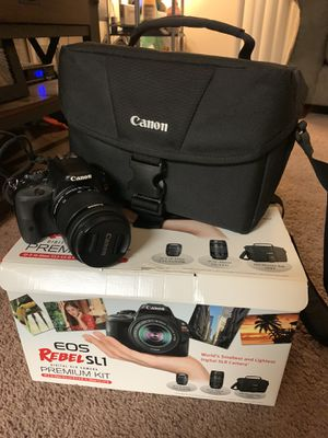 CANON EOS REBEL SL1 USED ( not much at all) for Sale in Carlsbad, CA