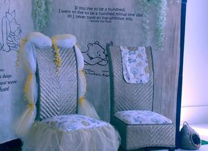 baby shower chairs and other items for Sale in St. Petersburg, FL