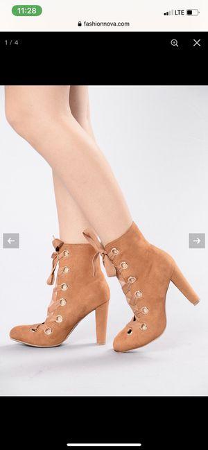 Fashion nova boot heels for Sale in Miami, FL