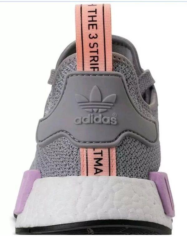 Women's adidas NMD R1 Casual Shoes Light Granite/Light Granite size 8.5