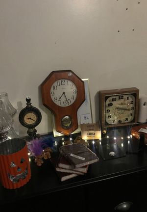 Clocks and medieval decor for Sale in Lakewood, CO
