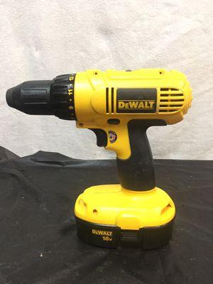 Dewalt 18v drill & battery #SH3007769 for Sale in Glendale, AZ