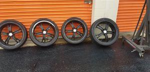 "MSR 087 Polished Wheel (20x7.5""/5x4.5"") for Sale in Midlothian, VA"